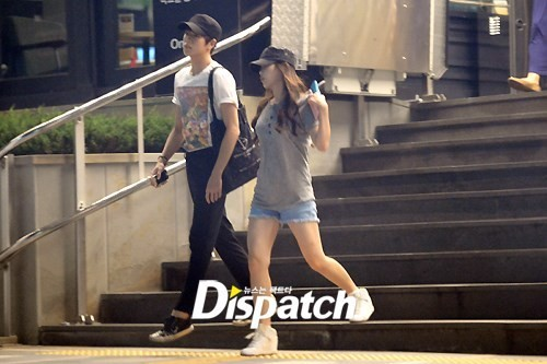 IU and Lee Hyun-woo (Photo: Dispatch)